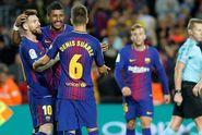 Hasil Liga Spanyol, 4 Gol Messi Warnai Kemenangan Telak Barcelona