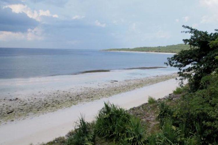 Destinasi wisa   ta Pantai Tanjung Bira yang terletak Bonto Bahari, Bulukumba, Sulawesi Selatan.
