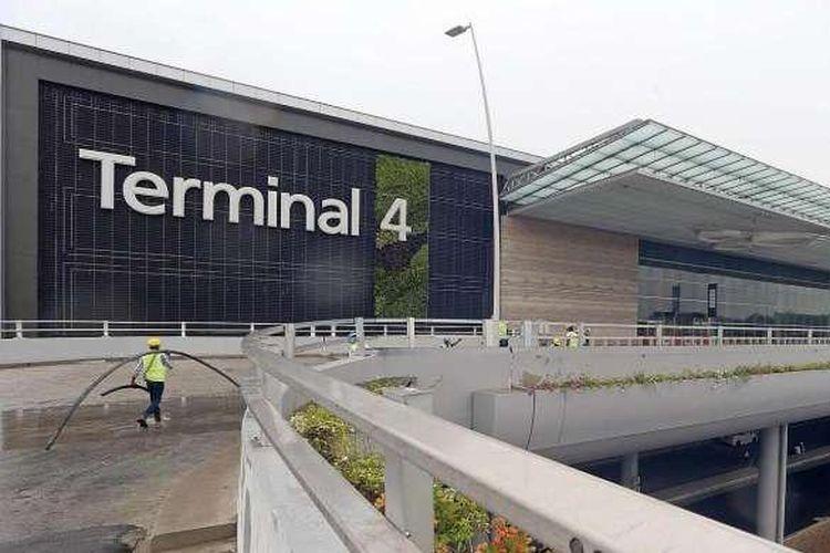 Eksterior Terminal 4 Bandara Changi