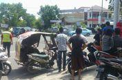 Ada Suara Anak Teriak 'Bapak' Saat Truk Tabrak Sejumlah Motor di Medan