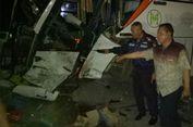 Kecelakaan Bus Rombongan Peziarah Wali Songo dan Truk, Dua Luka Parah