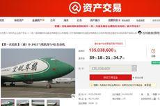 Dilelang Online, Dua Pesawat Boeing di China Ini Laris Manis