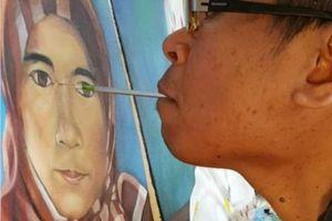 Di Australia, Pelukis Difabel Indonesia Ini Wujudkan Mimpinya