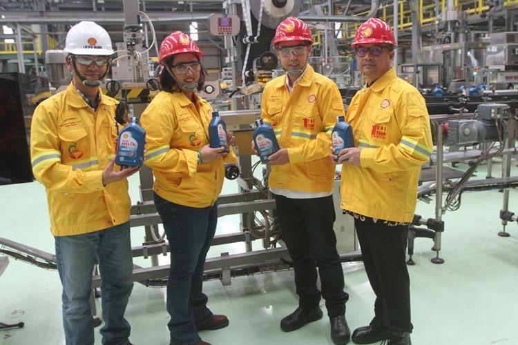 Teknologi Shell untuk cegah pemalsuan pelumas