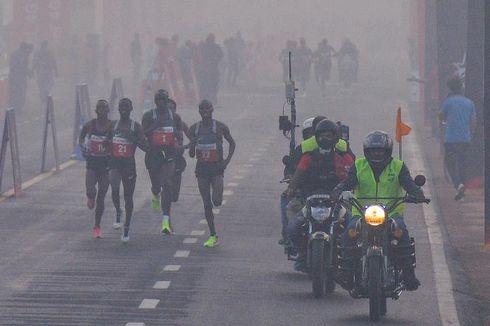Asap Polusi Masih Tebal, Maraton di New Delhi Tetap Digelar