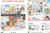 Komik Soal Cara Selamat dari Serangan Nuklir Terbit di Hokkaido