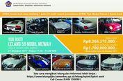 Puluhan Mobil Mewah Dilelang Dalam Satu Paket