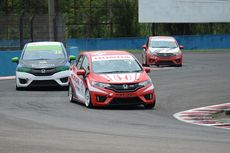 Hasil Akhir Honda Jazz dan Brio Speed Challenge