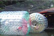 Serunya Bermain Aneka Wahana Air di Taman Topi Bogor