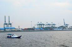 Pekerjaan Tanggul Laut Utara Jakarta Sudah Separuh Jalan