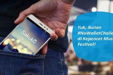 """Tantangan """"No Wallet"""" di KMF 2017 Berhadiah <i>Smartphone</i>"""