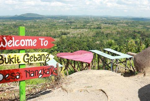 Berita Foto: Bukit Gebang, Titik Foto 'Instagramable' di Bangka