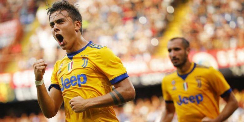 Paulo Dybala Menangkan Juventus Dan Hattrick 3 Gol