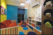 Permainan Warna Hangat di Kamar Anak, Berani Coba?
