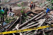 3 Pekerja Bangunan DPRD Barru Tertimbun Longsor di Lubang Tiang Utama