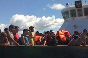 TNI AL Tangkap 8 Imigran Gelap Asal Somalia