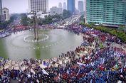 17.000 Personel Polri Akan Amankan Demo Hari Buruh di Jakarta.