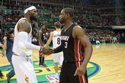 Luapan Bahagia LeBron James Saat Wade Resmi Gabung ke Cavaliers