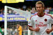 Dilepas AC Milan, Honda Ikut Berlatih di Klub Amerika Serikat