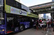 Saat Lebaran, Bus Tingkat Wisata Mulai Beroperasi Pukul 13.00