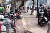 Polisi Mulai Sosialisasi Pelarangan Sepeda Motor di Jalan Sudirman