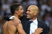 Zidane Tanggapi Komentar Pelatih Gremio soal Ronaldo