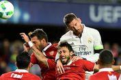 Cedera Tulang Hidung, Sergio Ramos Terancam Absen Bela Real Madrid