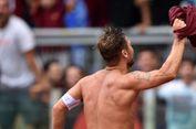 Totti Butuh Satu Gol Lagi di Derbi Kota Roma