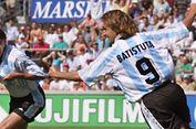 Soal Striker Timnas Argentina, Batistuta Pilih Icardi daripada Higuain