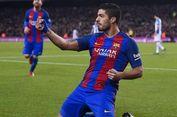 Tiga Catatan Apik Suarez Saat Barcelona Menang Telak atas Granada