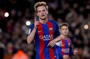 Komentar Rakitic soal Peluang Barcelona Raih 3 Gelar