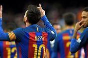 Dalam Kecepatan Lari, Neymar Unggul atas Messi