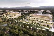 Rancangan Terbaru, Atap Gedung 'Google' Dibuat Terasering