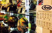 Helm Arai Asli Hanya Buatan Jepang
