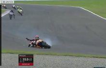 Detik-detik Marquez dan Lorenzo Jatuh di GP Argentina (Video)