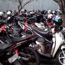 Penjelasan Honda Soal Motor yang Tertukar di Parkiran