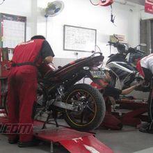 Catat, Posko Mudik dan Bengkel Siaga Yamaha