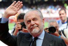 Man City Vs Napoli, Sang Presiden Menyerah sebelum Bertanding
