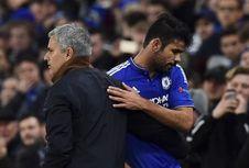 Sampaikan Simpati, Mourinho Telepon Diego Costa