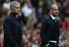 Man United Vs Man City, Guardiola Masih Unggul atas Mourinho