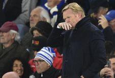 Everton Kalah, Koeman Sadar Tengah dalam Sorotan