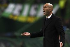 Zidane Tetap Yakin Real Madrid Berada dalam Persaingan