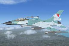 Pantau Kebakaran Hutan di Riau, Pesawat F-16 Diterjunkan