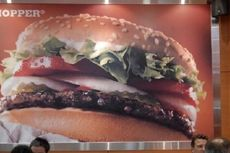 Beli Burger Bisa Pakai Mata Uang Virtual