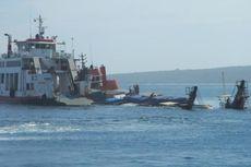 Bupati Flores Timur Bakar 2 Kapal Nelayan yang Terlibat Pengeboman Ikan