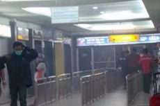 Cuaca Buruk, Penumpang Lari Berteriak saat Plafon Bandara Syamsudin Noor Berjatuhan