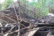 Angin Puting Beliung Sapu Sukabumi, Satu Rumah Tertimpa Pohon Tumbang