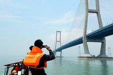 Perbaikan Kabel PLN yang Terbakar di Jembatan Suramadu Rampung
