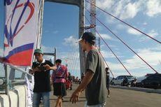 Kontraksi Hebat, Seorang Ibu Melahirkan di Jembatan Dibantu Kapolsek