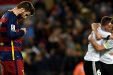 Barcelona Takluk, Pique Merasa Inferior di Hadapan Real Madrid